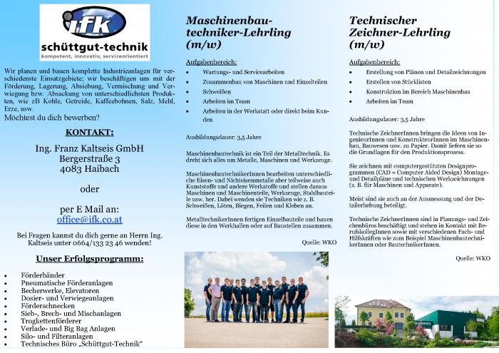 IFK Schüttgut Technik